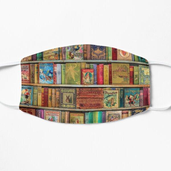 A Daydreamer's Book Shelf Flat Mask