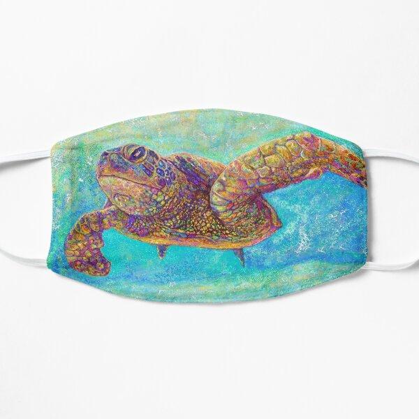 Sea Turtle Painting Flat Mask