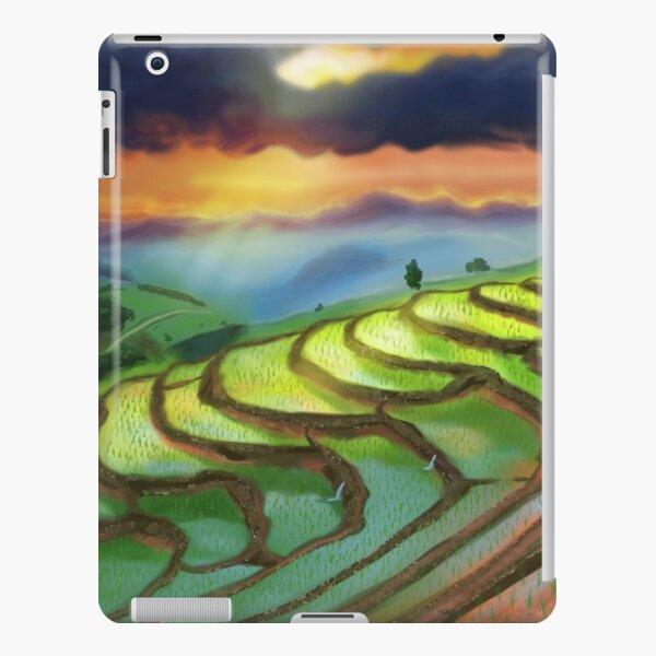Rizières Coque rigide iPad