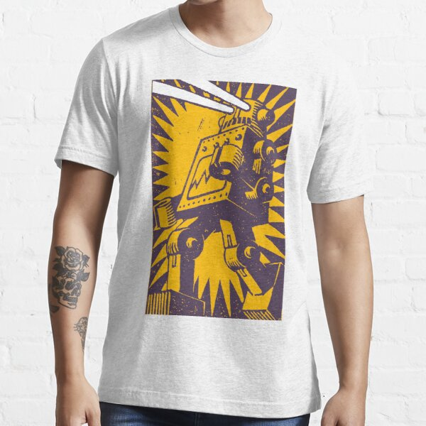 Purple Robot Essential T-Shirt