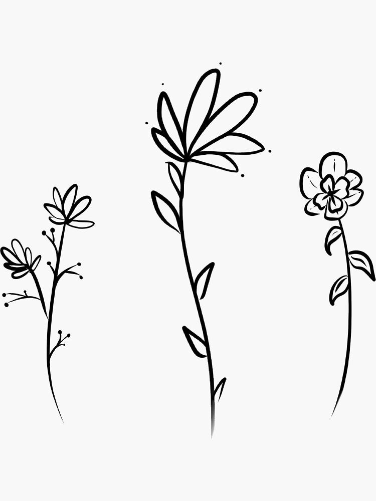 minimalist flowers by celiabrand