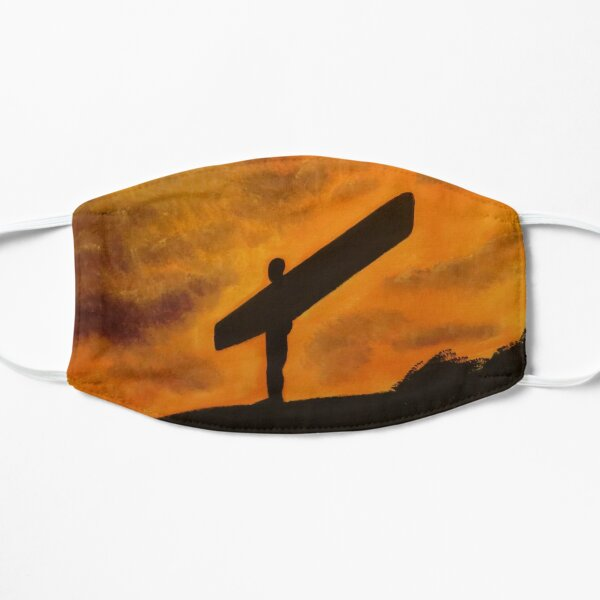 Angel of the North - Stand Strong - SCENESCAPESHOP Flat Mask