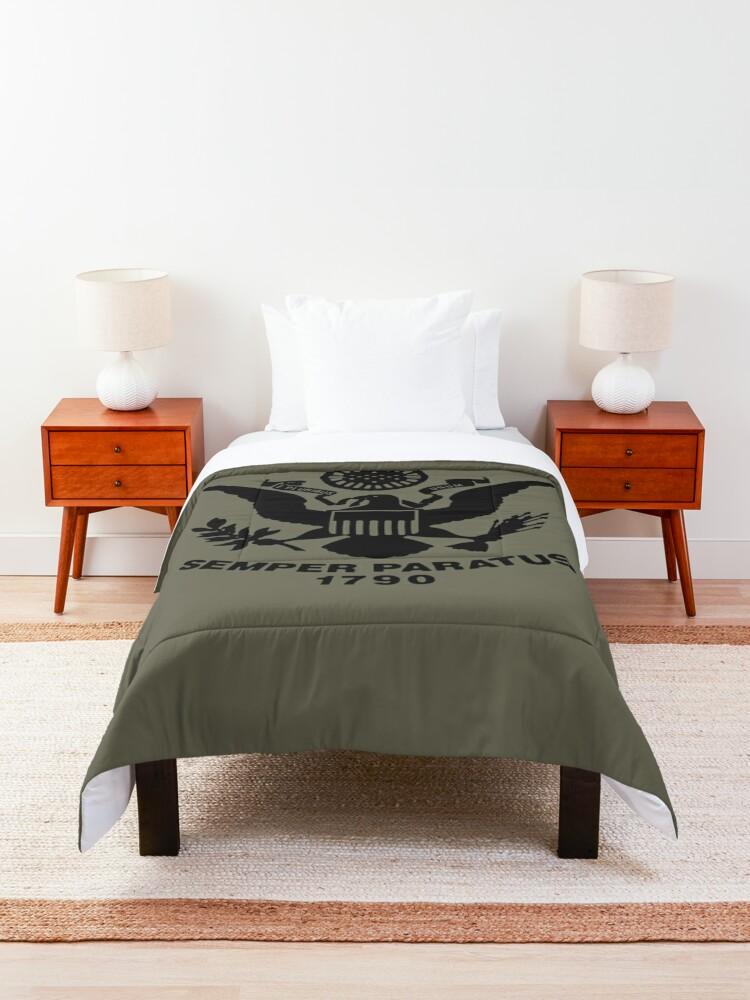 Alternate view of United States Coast Guard Comforter