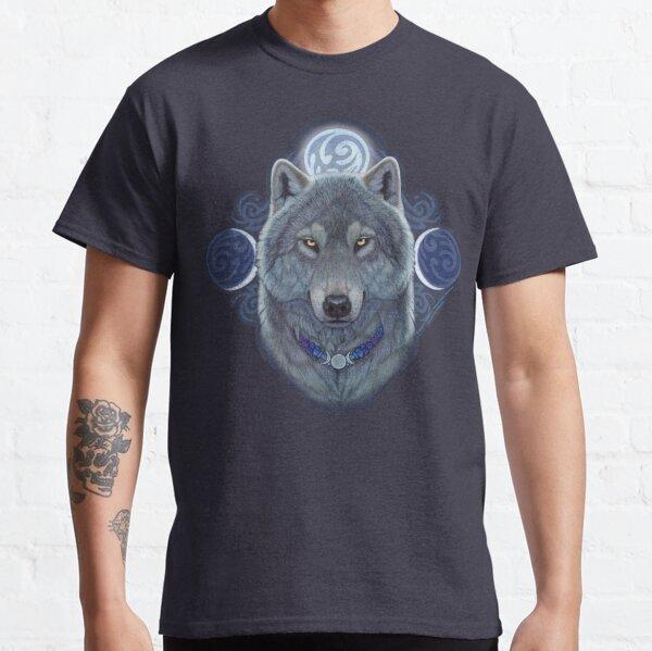 Mystical Moon Wolf Classic T-Shirt