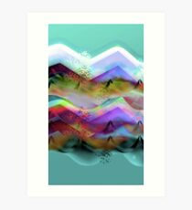 Ocean-Race_21 Art Print