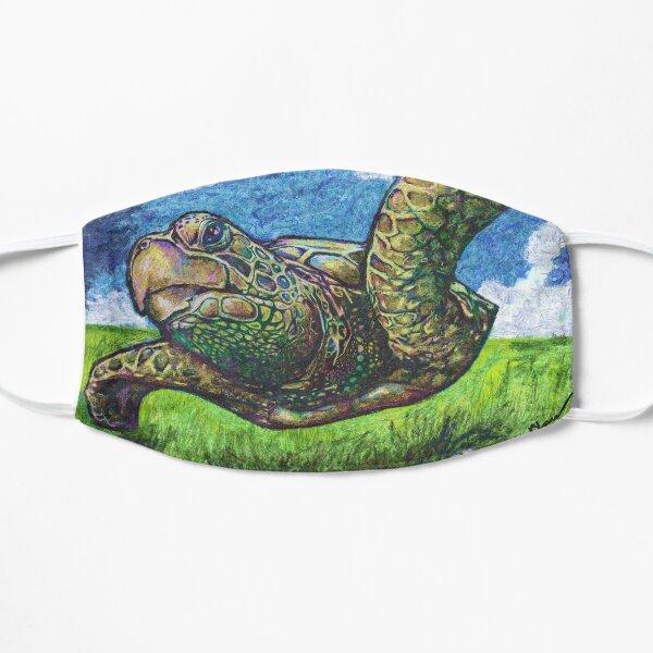 Sea Turtle in Flight Flat Mask