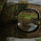 Old stone bridge by Joyce Knorz