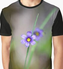 Blue Eyed Grass Graphic T-Shirt