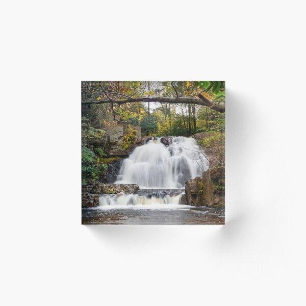 Hawk Falls Acrylic Block