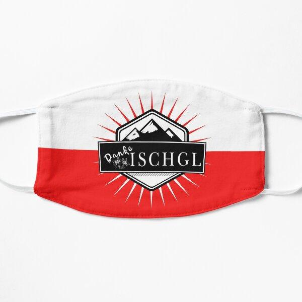 Danke Ischgl! Flache Maske