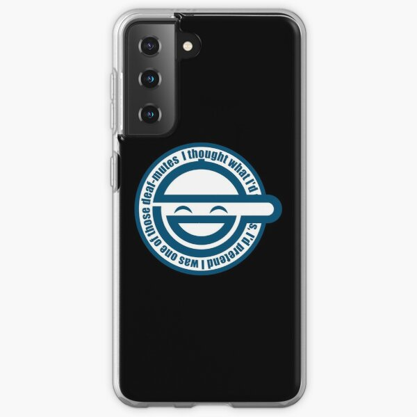Laughing Man - GHOST IN THE SHELL Samsung Galaxy Soft Case