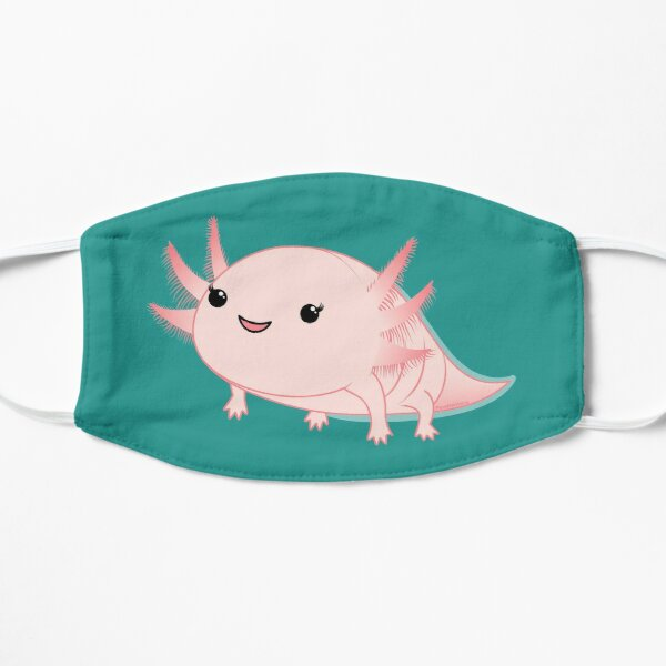 Axolotl baby kawaii Mask