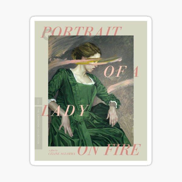 Retrato de una colección de Criterios de Lady On Fire Pegatina