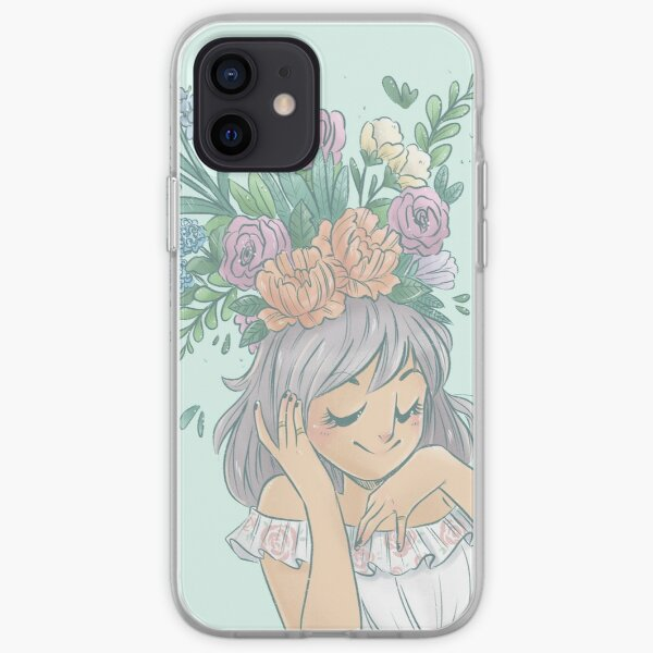 Floral Bloom iPhone Soft Case