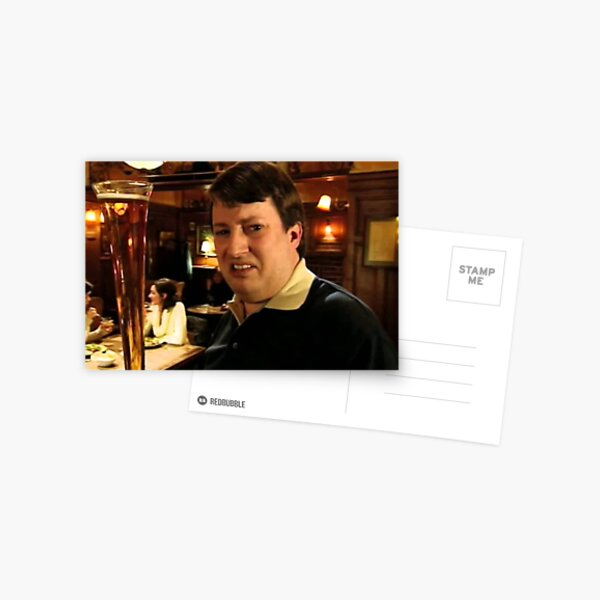 Peep Show David Mitchell Postcard