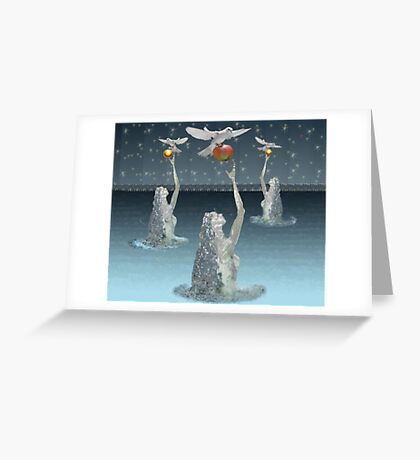 ...cognition... Greeting Card