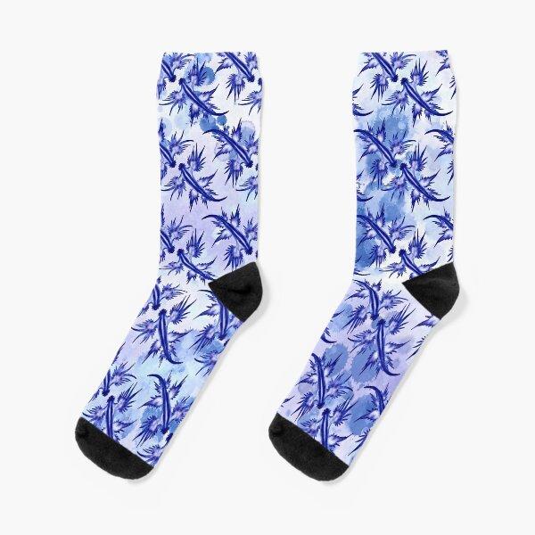 Blue Dragon Sea Slug Socks