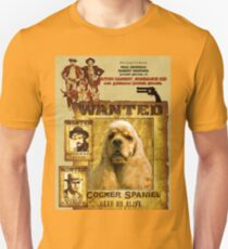 American Cocker Spaniel Art - Butch Cassidy and the Sundance Kid T-Shirt