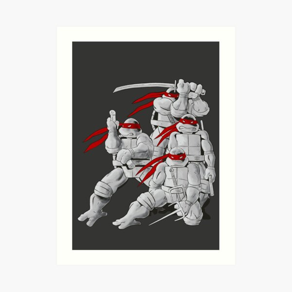 Mirage TMNT Art Print
