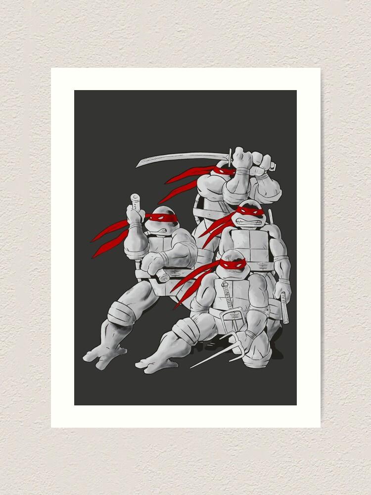 Alternate view of Mirage TMNT Art Print