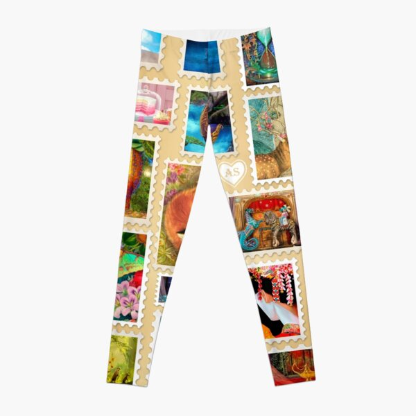 Aimee Stewart Stamp Sampler Leggings