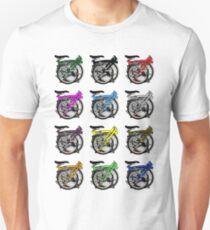 Brompton Bicycle Folded Slim Fit T-Shirt