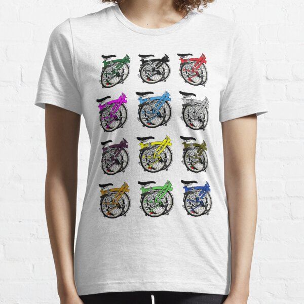 Brompton Bicycle Folded Essential T-Shirt