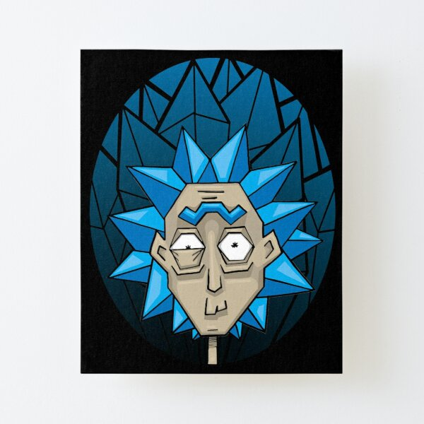 Crystal Rick Canvas Mounted Print