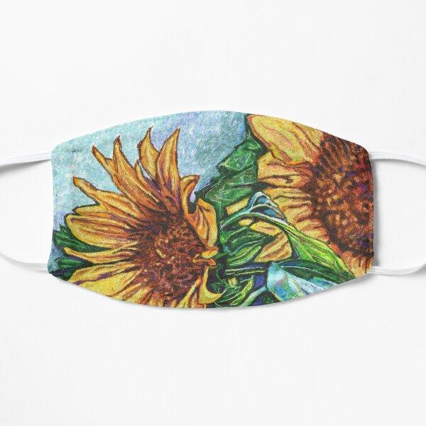 Sunflowers Flat Mask