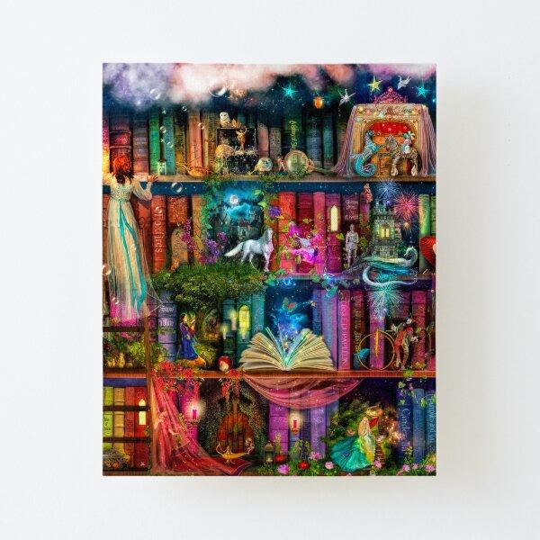 Whimsy Trove - Treasure Hunt Canvas Mounted Print