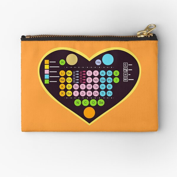 Now That's a Chemical Reaction! Zipper Pouch