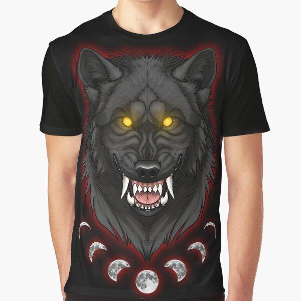 Werewolf Moon Graphic T-Shirt
