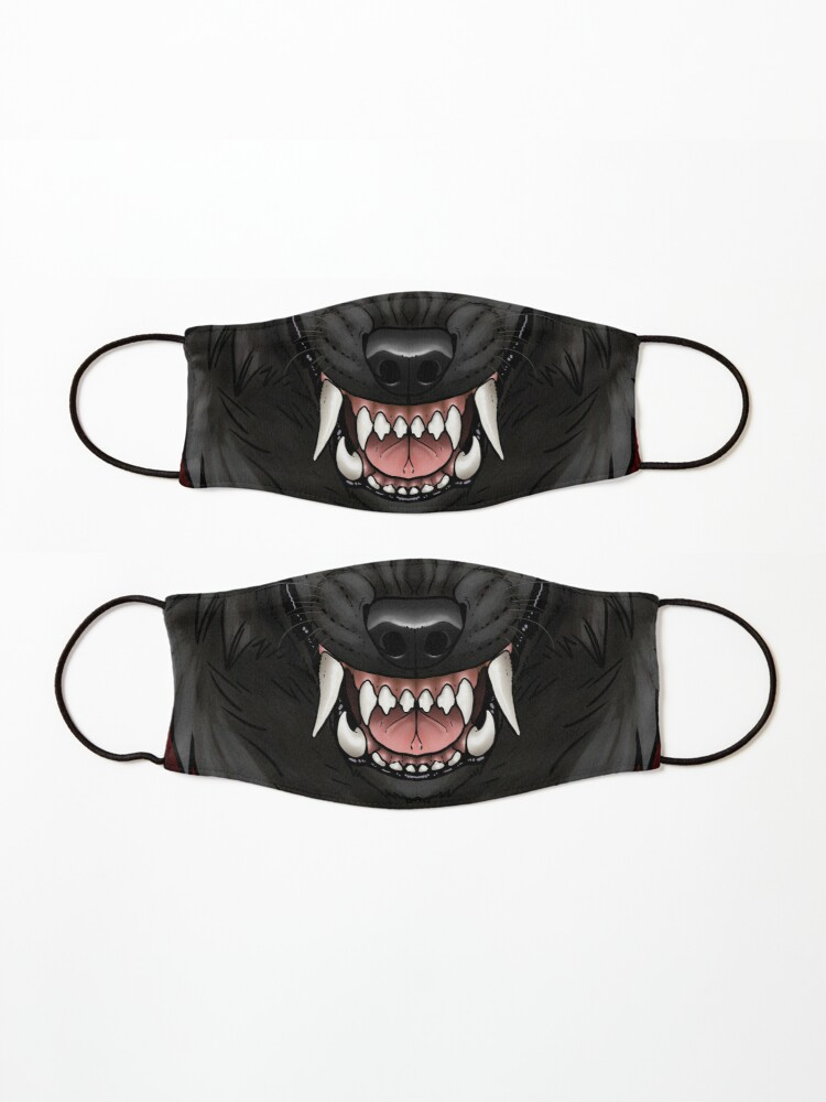 Alternate view of Werewolf Moon Mask