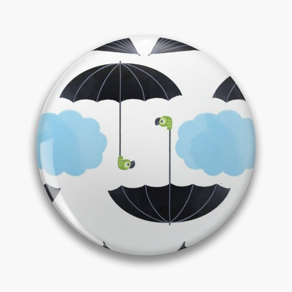 umbrella pattern Pin