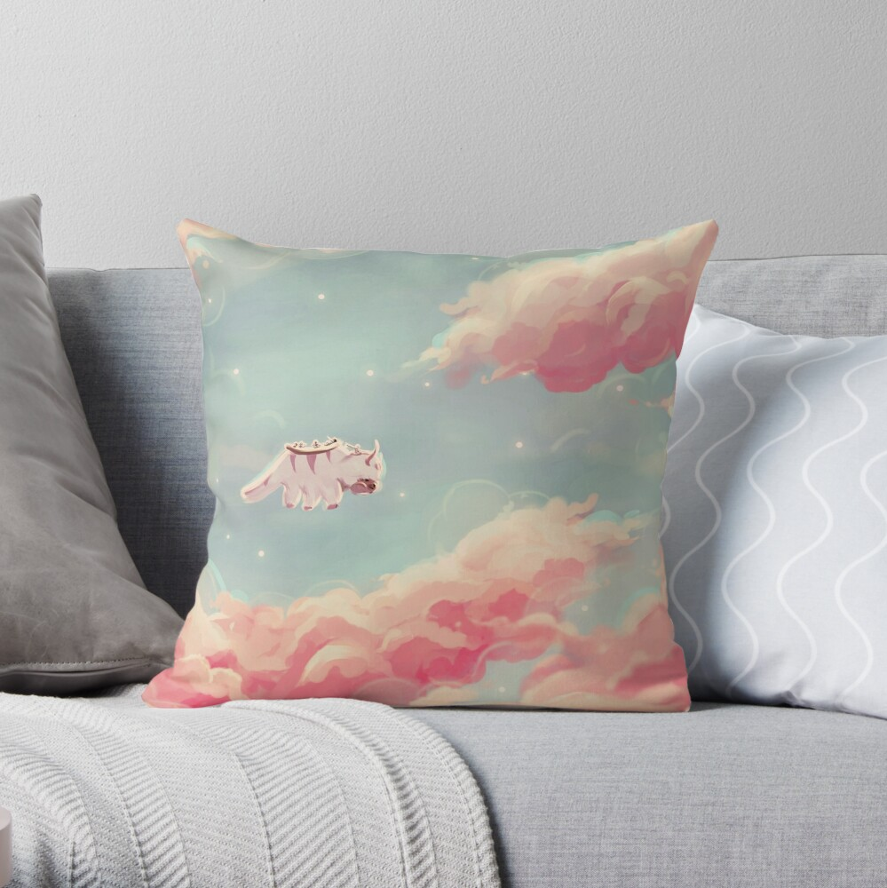 dreamy appa poster v1 Throw Pillow