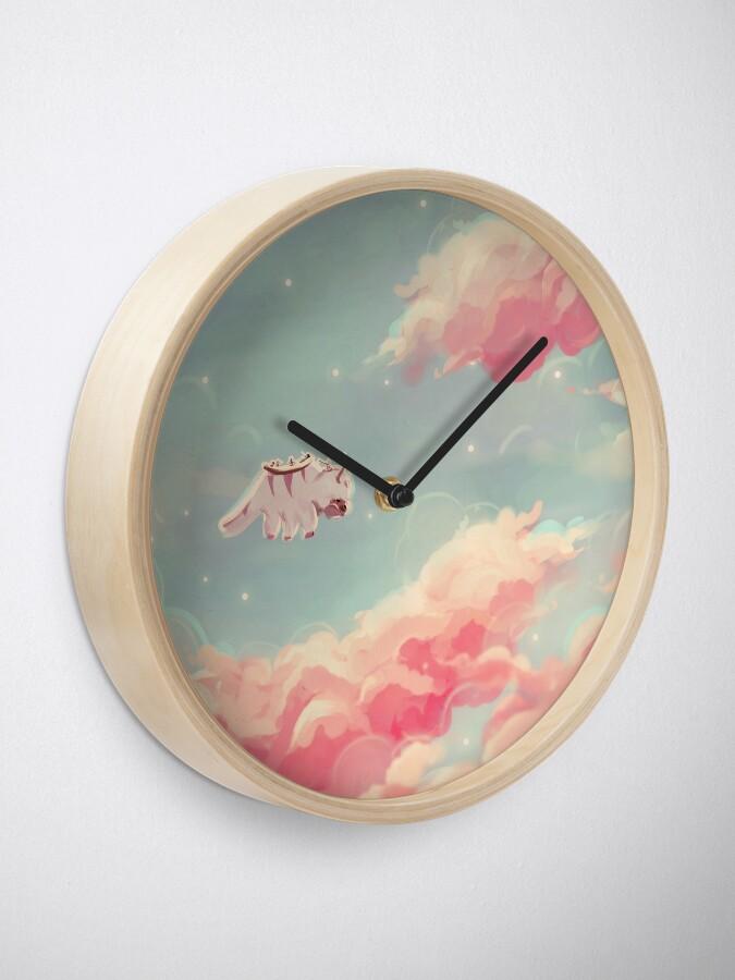 Alternate view of dreamy appa poster v1 Clock