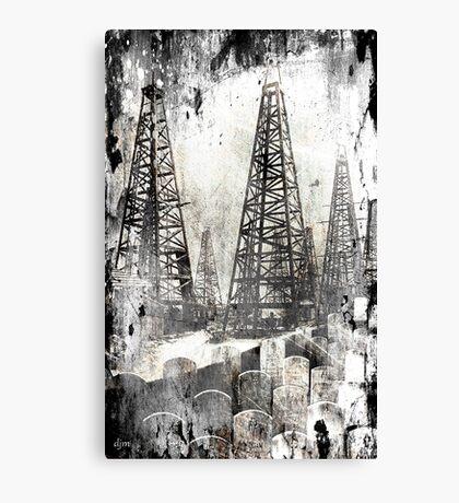 The True Price Of Oil Canvas Print