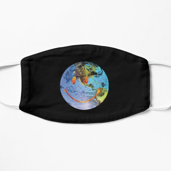 Travis Scott Astroworld Globe Smiley Masque sans plis
