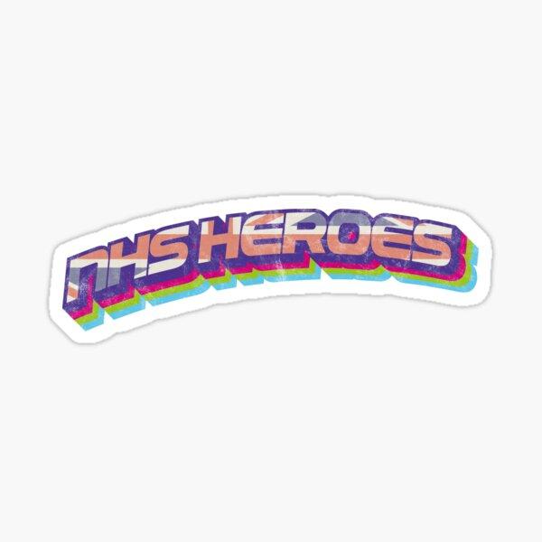 NHS Heroes Tee Shirt The Best of British Brigade Sticker