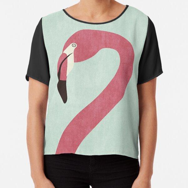 FAUNA / Flamingo Chiffon Top