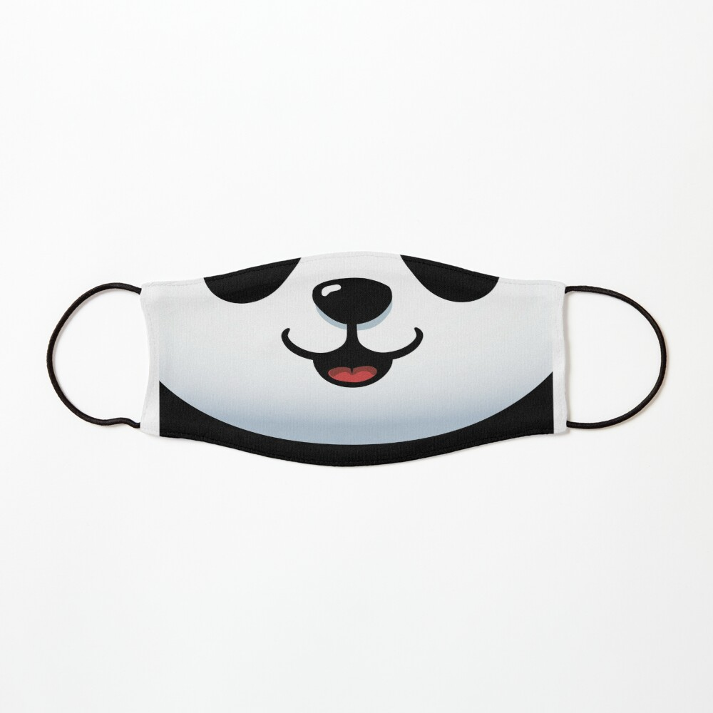 Pandamic mask - Furry Face mask - Funny Panda Mask