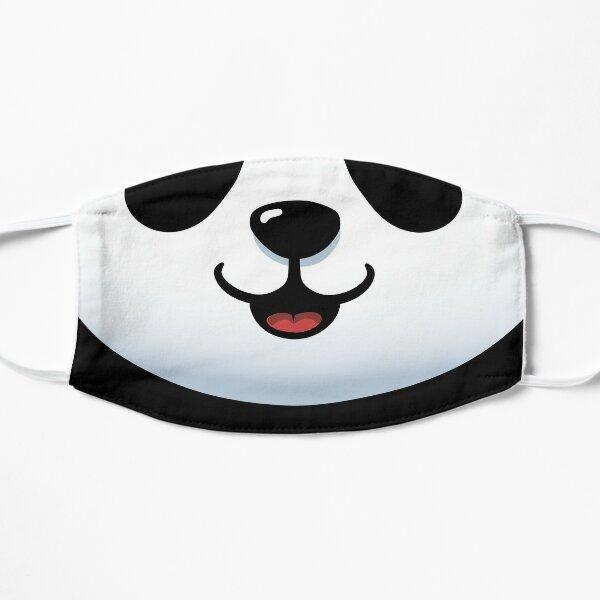 Pandamic mask - Furry Face mask - Funny Panda Mascarilla plana