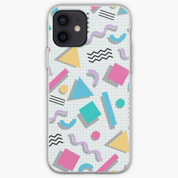 Memphis Shapes iPhone Soft Case