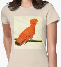 American Martinet Bird illustration Womens Fitted T-Shirt