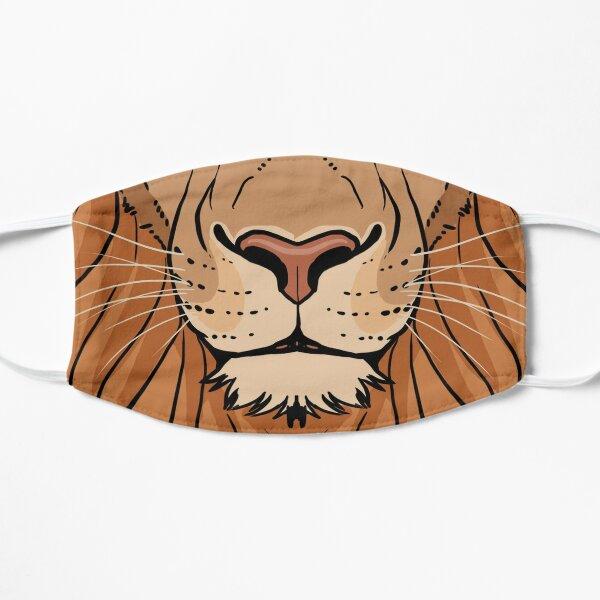 Tribal Lion Flat Mask