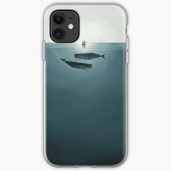 At sea. iPhone Soft Case