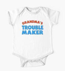 Grandma's Trouble Maker One Piece - Short Sleeve