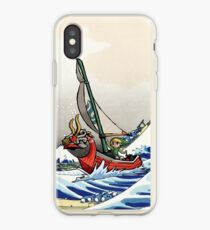 Legend of Zelda Great Wave Windwaker iPhone Case