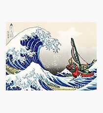 Legende von Zelda Great Wave Windwaker Fotodruck
