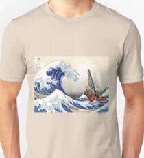Legend of Zelda Great Wave Windwaker Unisex T-Shirt